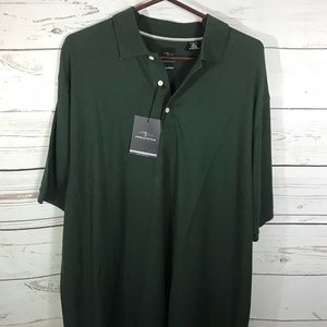 Page & Tuttle Green Polo Shirt size XL Pima Cotton